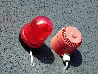 Einbruchmeldeanlage Alarm