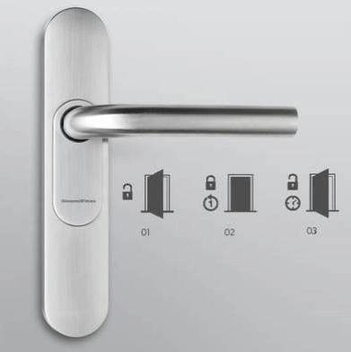 Digitale Türklinke mit DoorMonitoring-Funktion (DM)