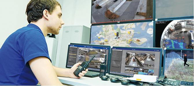 Videoüberwachung Management