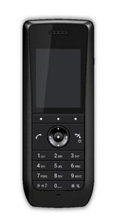schwarzes DECT-Handset 3735 AVAYA