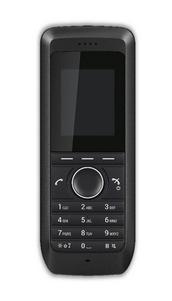 schwarzes DECT Handset von AVAYA