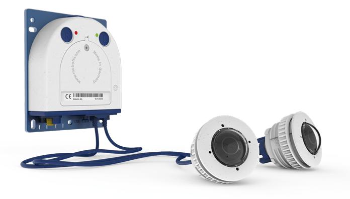 MOBOTIX S16 mit zwei Sensoren