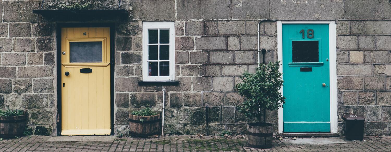 Fassade ohne MOBOTIX T25